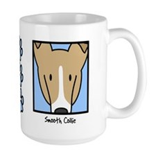 Anime Sable Smooth Collie Mug