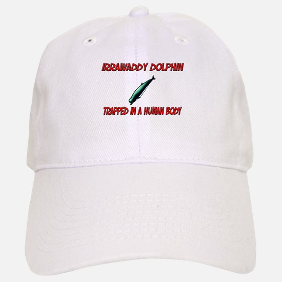 Irrawaddy Dolphin trapped in a human body Baseball Baseball Cap