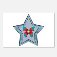 Butterfly Star Postcards (Package of 8)
