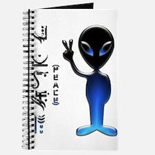 Alien Peace Dude 2 Journal