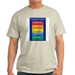 HOMOLAND SECURITY Ash Grey T-Shirt