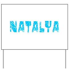 Natalya Faded (Blue) Yard Sign