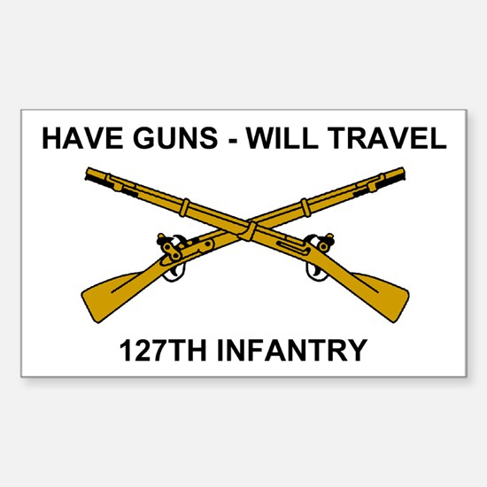 Sticker <BR>Have Guns- Will Travel