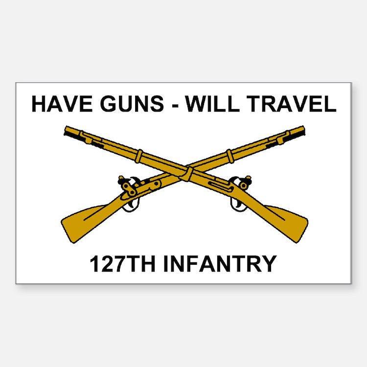 Sticker <BR>Have Guns- Will Travel