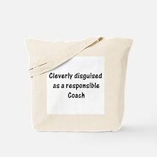 Sports Coach Tote Bag