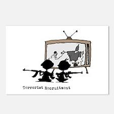 Terrorist Recruitment Postcards (Package of 8)