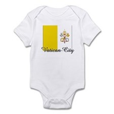 Vatican City Flag Infant Bodysuit