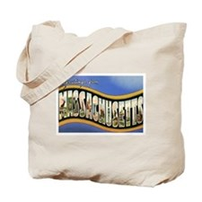MASSACHUSETTS MA Tote Bag