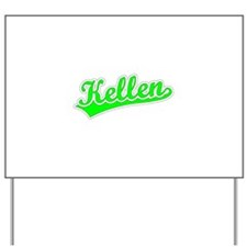 Retro Kellen (Green) Yard Sign