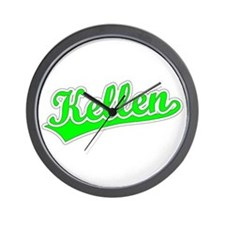 Retro Kellen (Green) Wall Clock