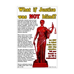 If Justice Was Not Blind Small Poster