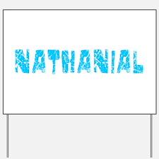 Nathanial Faded (Blue) Yard Sign