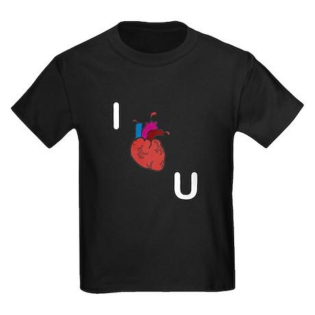 I Love You. Literally. Kids Dark T-Shirt
