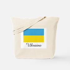 Ukraine Flag Tote Bag