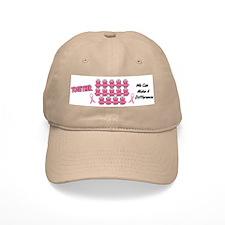 Pink Frogs 1 Baseball Cap