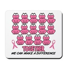 Pink Frogs 1 Mousepad