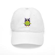 Purple Owl Baseball Cap