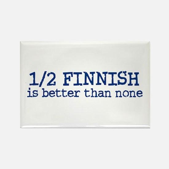 Half Finnish Rectangle Magnet