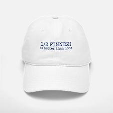Half Finnish Baseball Baseball Cap