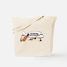 Uneasyjet Tote Bag