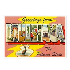 LOUISIANA LA Postcards (Package of 8)