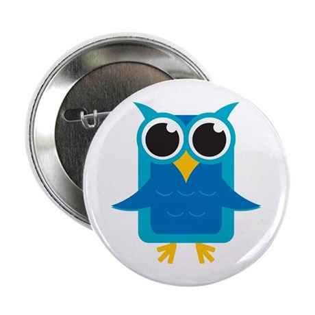 """Blue Owl 2.25"""" Button (10 pack)"""