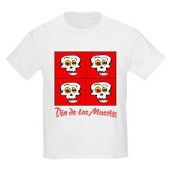 Dia De Los Muertos Kids T-Shirt