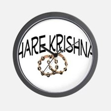 Hare Krishna Wall Clock