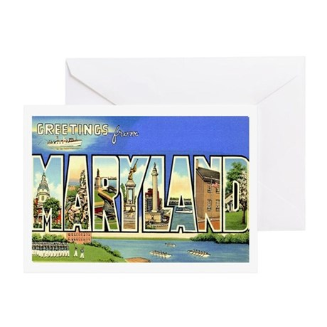 MARYLAND MD Greeting Card