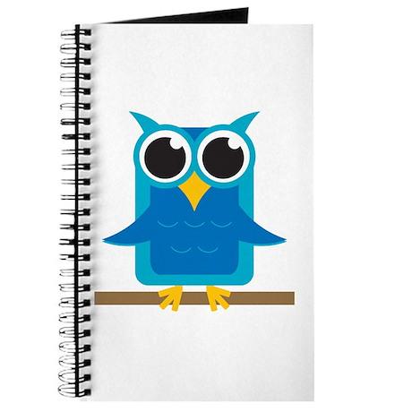 Blue Owl on Branch Journal