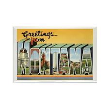MONTANA MT Rectangle Magnet
