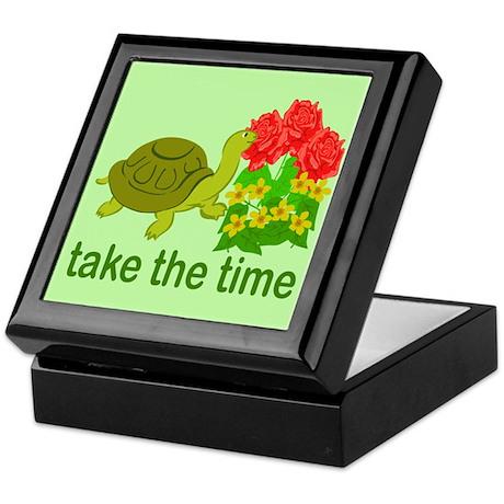 Take the Time Keepsake Box