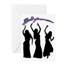 Bellydancer Trio Greeting Cards (Pk of 10)