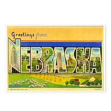 NEBRASKA NE Postcards (Package of 8)