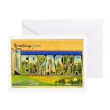NEBRASKA NE Greeting Card