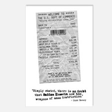 WMD Receipt Postcards (Package of 8)