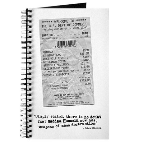 WMD Receipt Journal