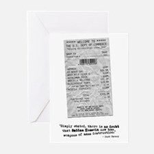 WMD Receipt Greeting Cards (Pk of 10)