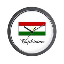 Tajikistan Flag Wall Clock