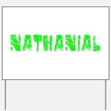 Nathanial Faded (Green) Yard Sign