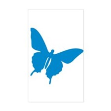Shadow of a Butterfly 2 Rectangle Decal