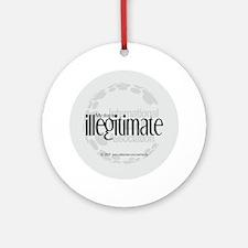 Illegitimate Dog Keepsake (Round)