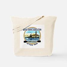 Unique Kayak fishing Tote Bag