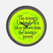 Average Canhardly Wall Clock