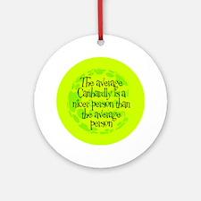 Average Canhardly Keepsake (Round)