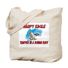 Harpy Eagle trapped in a human body Tote Bag