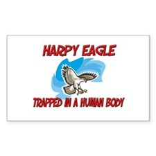 Harpy Eagle trapped in a human body Decal