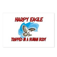 Harpy Eagle trapped in a human body Postcards (Pac