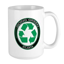 Going Green Atlanta Recycle Mug