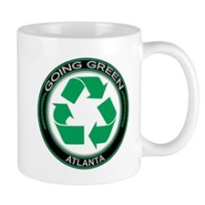 Going Green Atlanta Recycle Mug